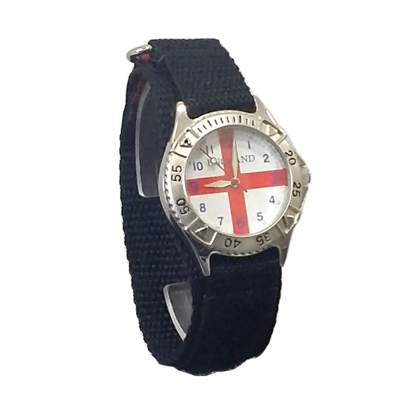 England velcro gents watch