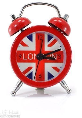 UNION JACK Mini Metal alarm clock Jack British style