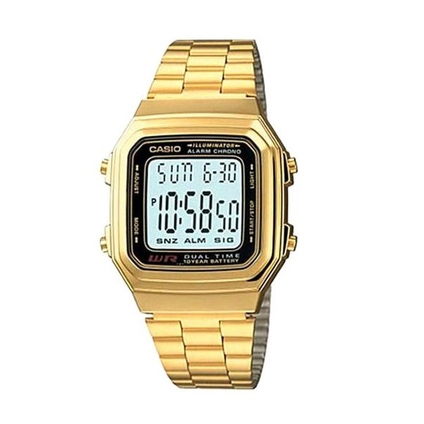 Casio A178WGA-1ADF Digital Alarm Chrono Gents Watch