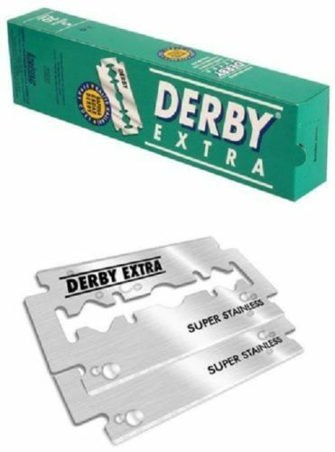 DERBY Extra Double Edge Razor Stainless Blade