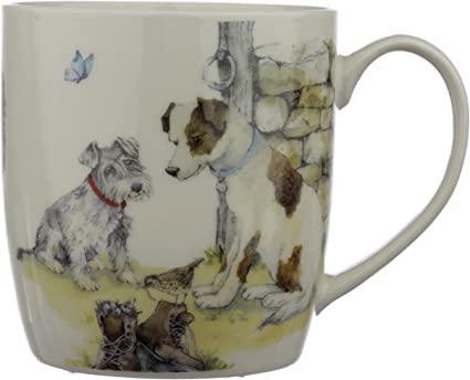 Puckator Jan Pashley Dog Porcelain Mug