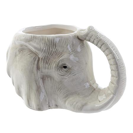 Puckator Elephant Shaped Mug